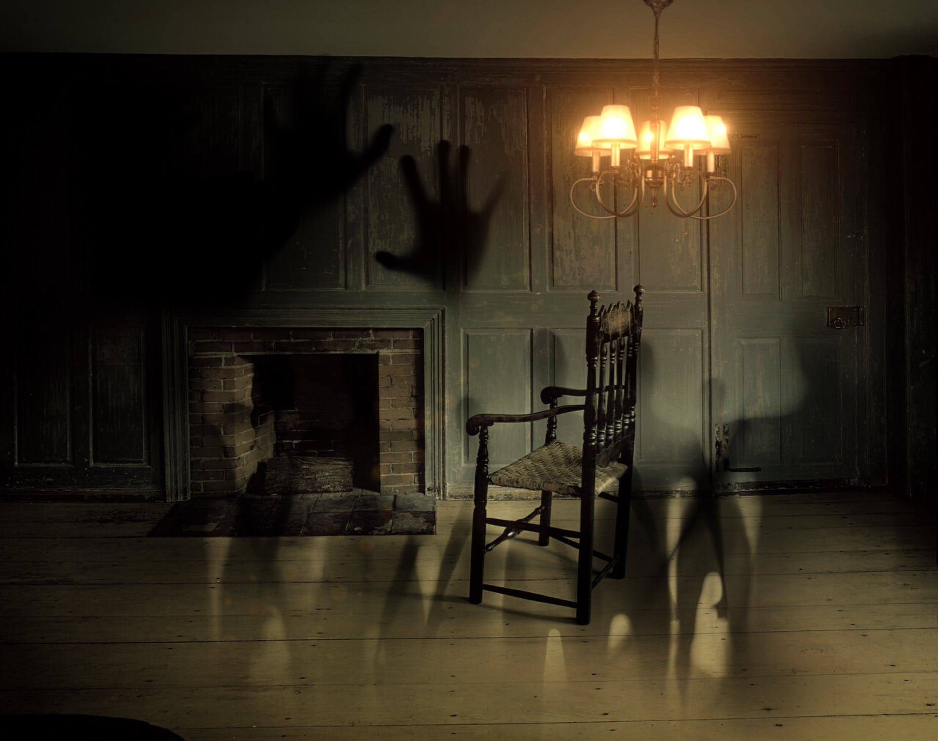 ghosts in room